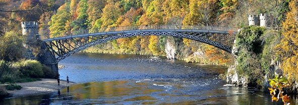 Telford Bridge Craigellachie, Speyside Malt Whisky Distillery Tours
